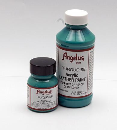ANGELUS LEATHER PAINT - Turquoise Shoe