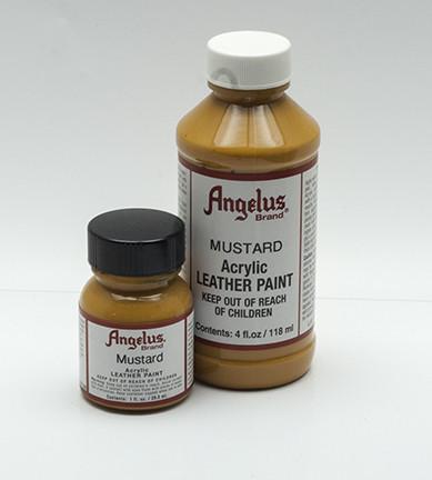 ANGELUS LEATHER PAINT - Mustard Shoe