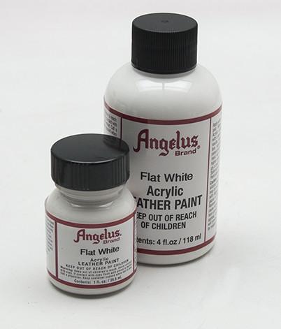 ANGELUS LEATHER PAINT - Flat White Shoe