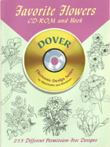 FAVORITE FLOWERS - CD Rom & Book