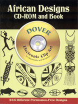 AFRICAN DESIGNS - CD Rom & Book
