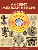 ANCIENT MEXICAN DESIGNS - CD Rom & Book