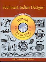 SOUTHWEST INDIAN DESIGNS - CD Rom & Book