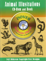ANIMAL ILLUSTRATIONS - CD Rom & Book