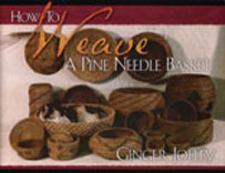 HOW TO WEAVE A PINE NEEDLE BASKET