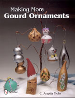 MAKING MORE GOURD ORNAMENTS