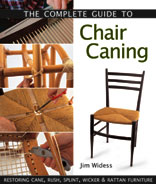 THE COMPLETE GUIDE TO CHAIR CANING Plus FREE Wire Caning Tool!