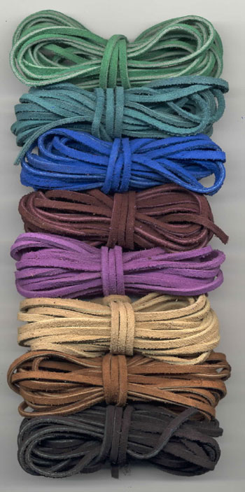 SUEDE LACING - 25 yards