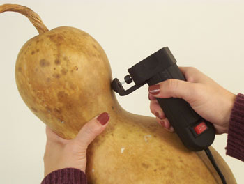 Using Gourd Saw