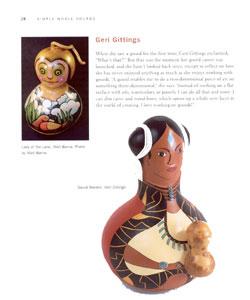Making Gourd Dolls